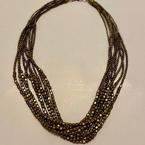 Cute Gold Layered Necklace